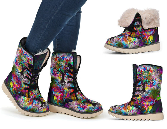 Shoes - Tree Of Life Polar Boots