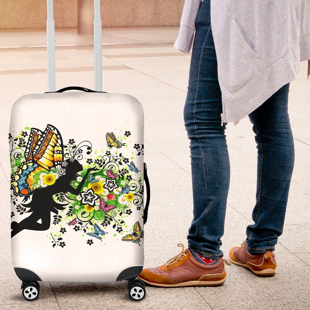 Spring Fairy Luggage Covers