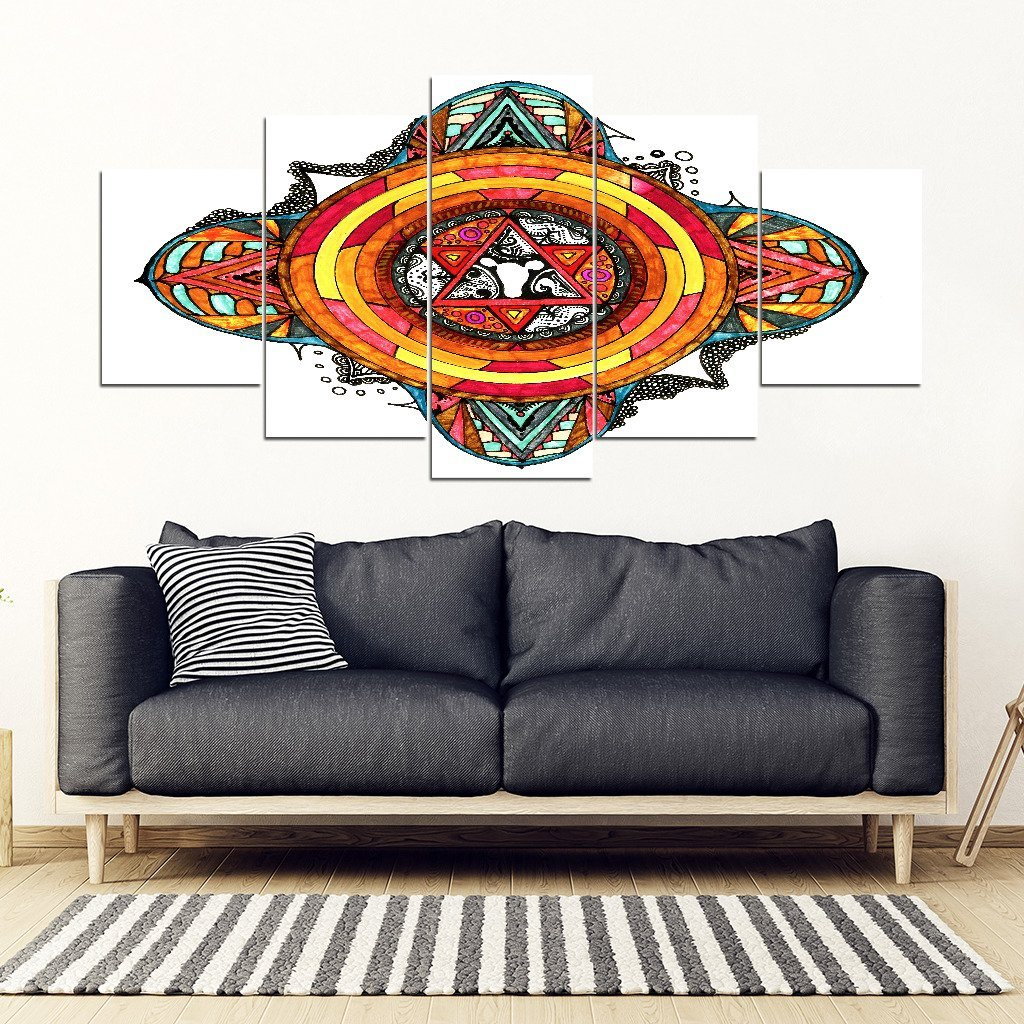 Star Gate 5 Piece Wall Art