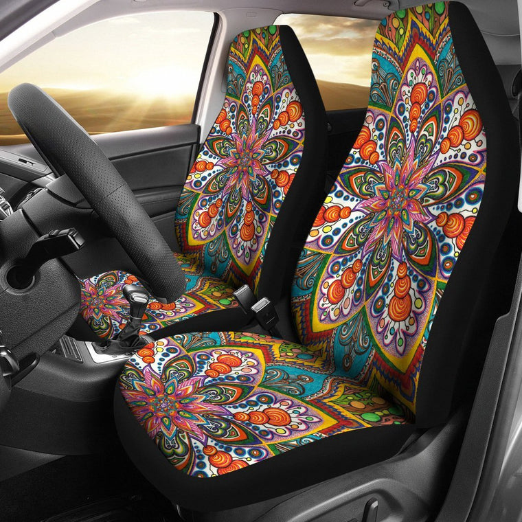 Star Mandala Car Seat Covers