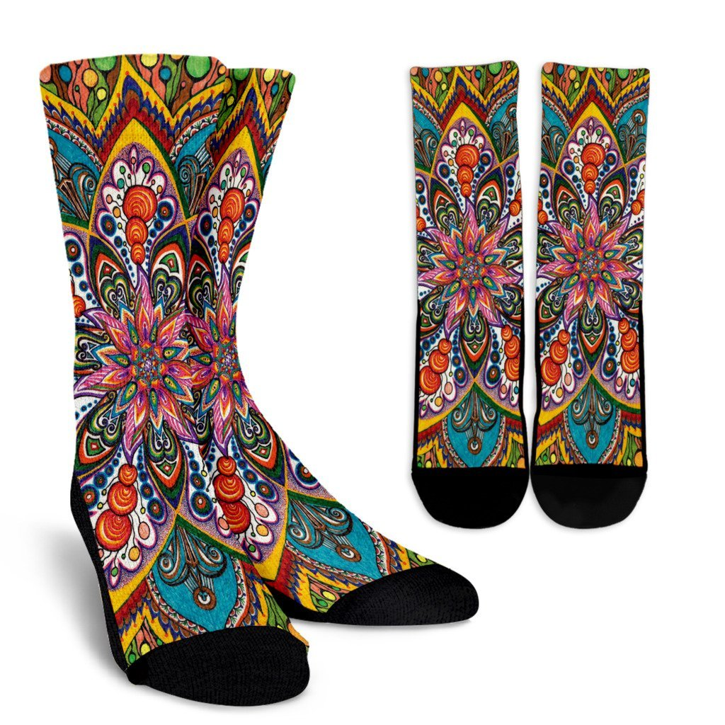 Star Mandala Socks
