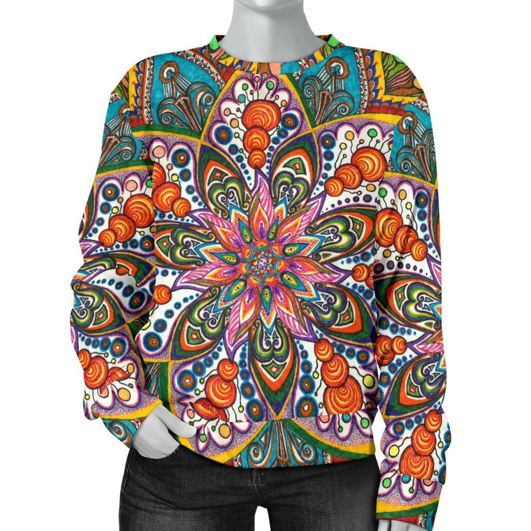 Star Mandala Women's Sweater