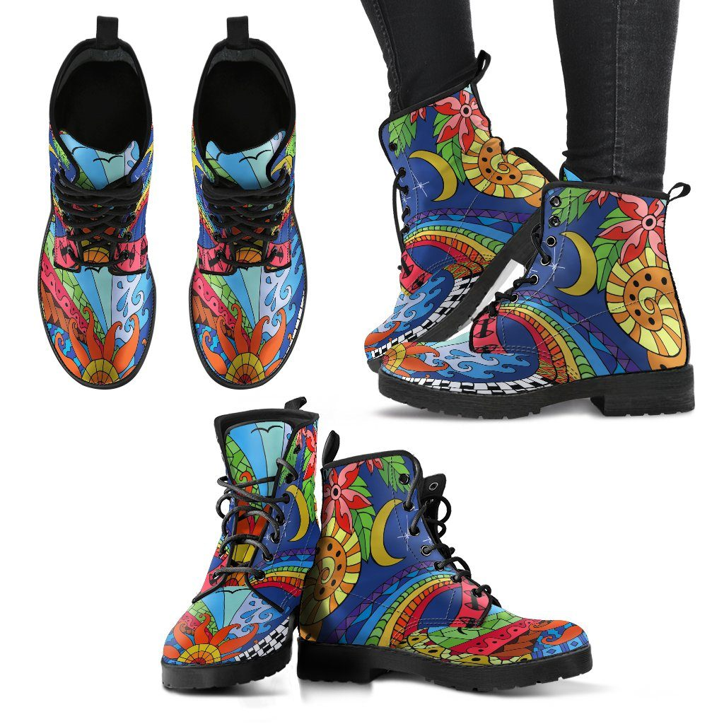 Sun And Moon Women's Boots
