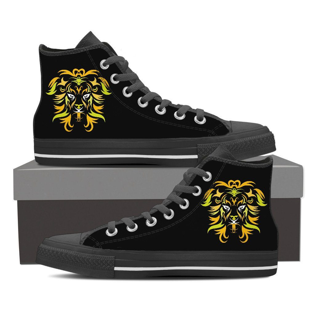 fa7462b0ee836 The Lion Men's High Top Shoes
