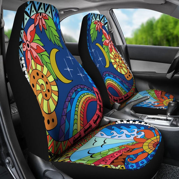 Sun And Moon Car Seat Covers Unique Car Accessories