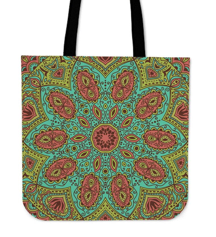 Tote Bag - Beautiful Mandala Tote Bag