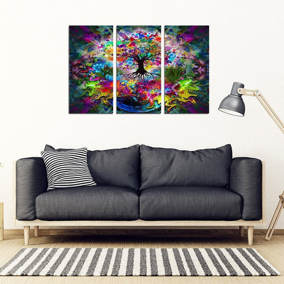 Tree Of Life 3 Piece Wall Art