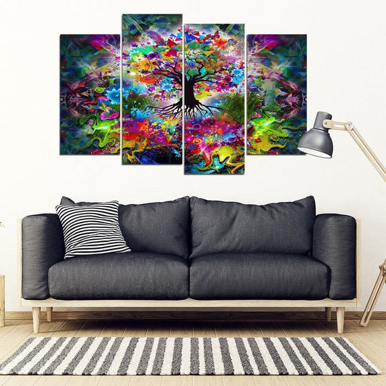 Tree Of Life 4 Piece Wall Art