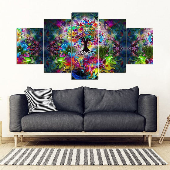Tree Of Life 5 Piece Wall Art