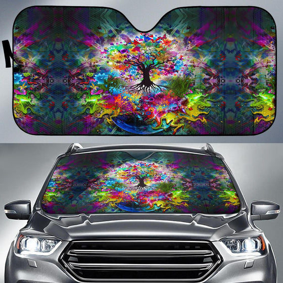Tree Of Life Auto Sun Shade