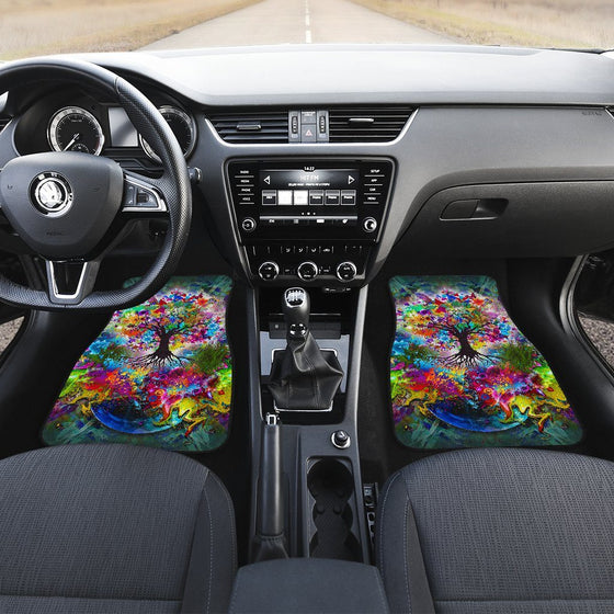 Tree Of Life Car Floor Mats