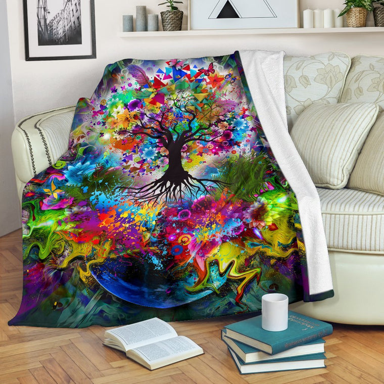 Tree Of Life Premium Blanket