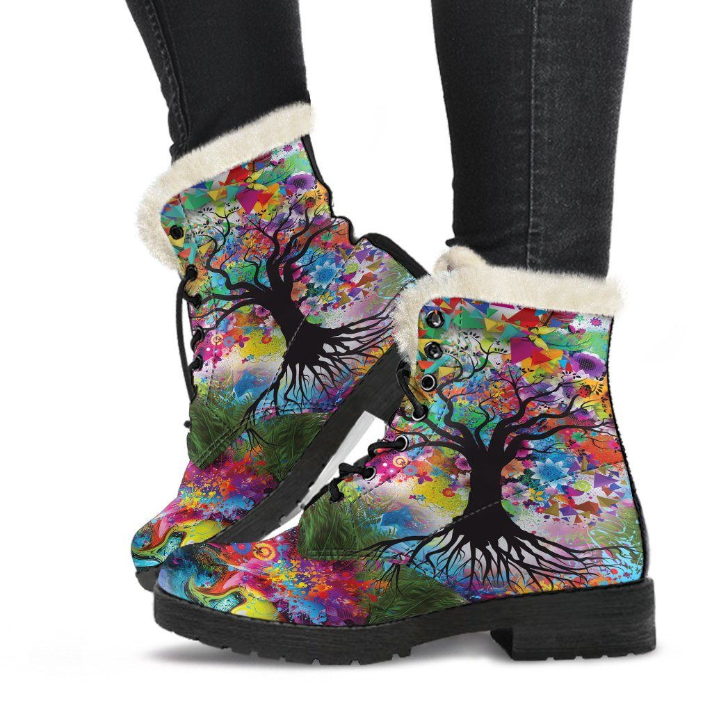 Tree Of Life Winter Boots