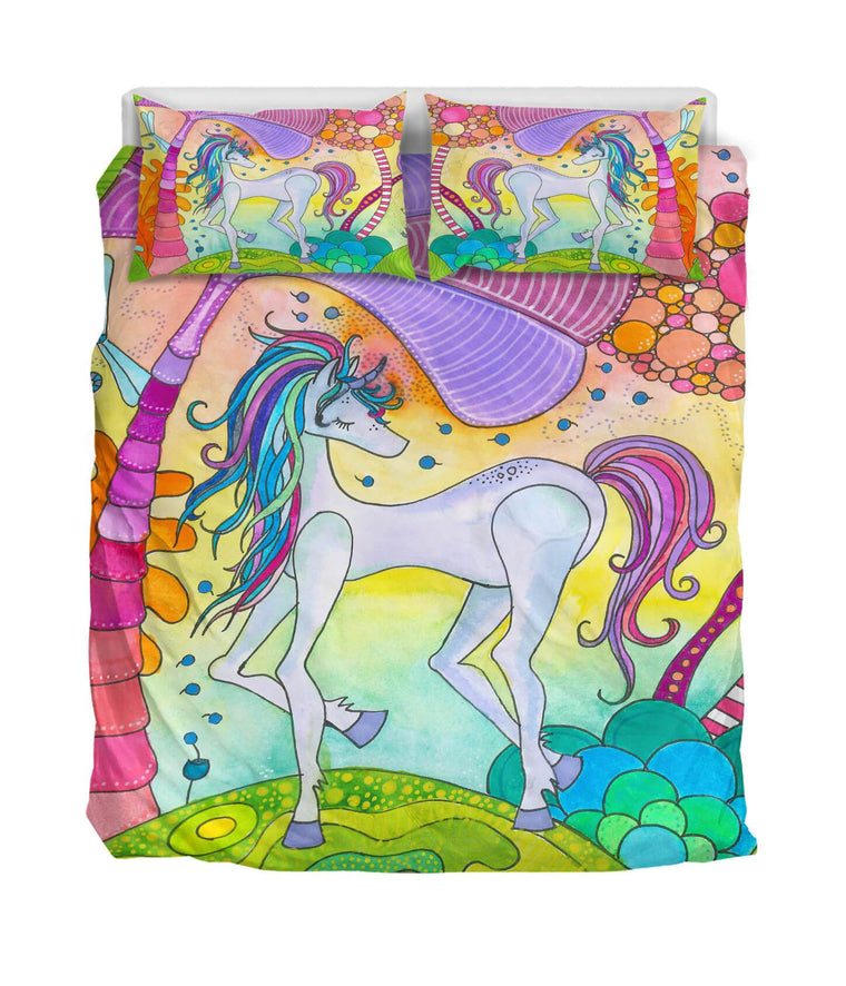 Unicorn Bedding- Duvet covers- queen size