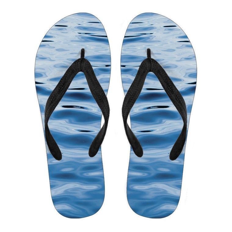 Walking On Water Flip Flops