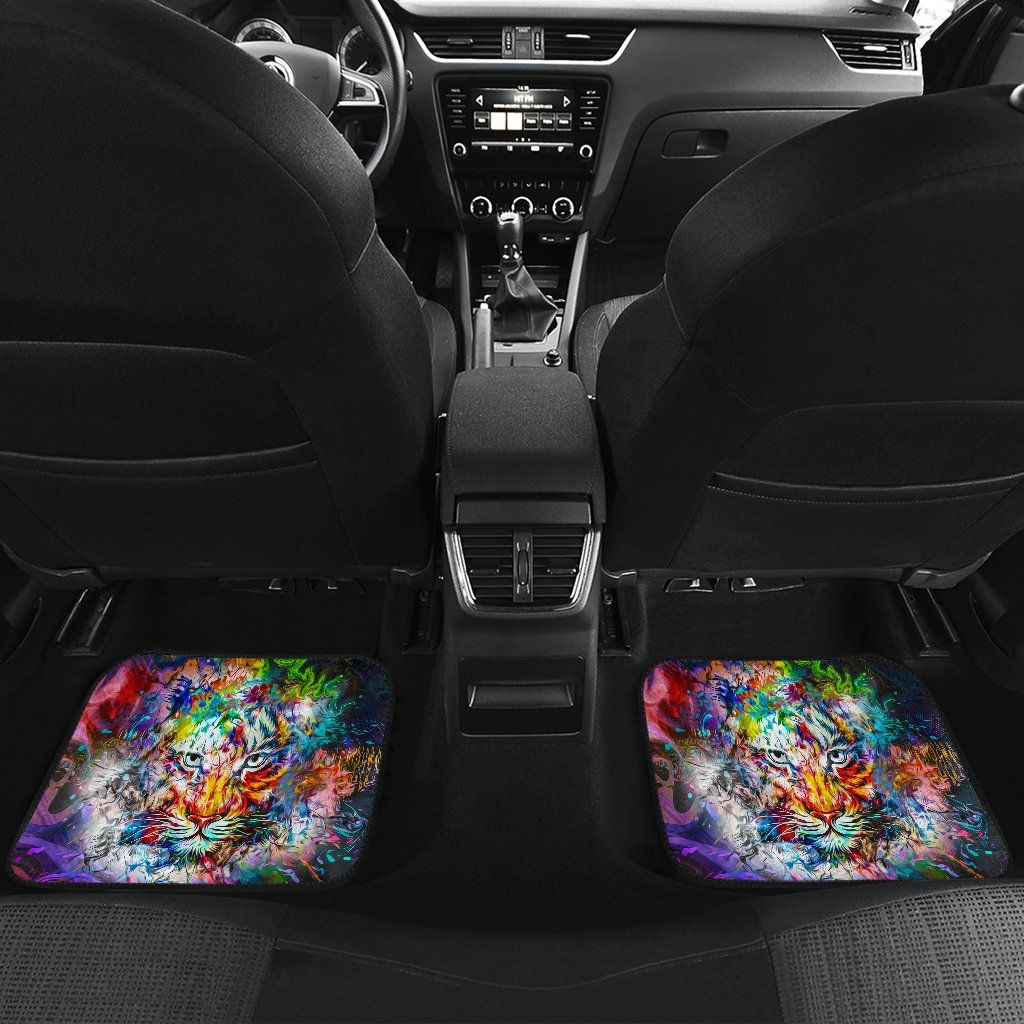 Wild Tiger Car Floor Mats