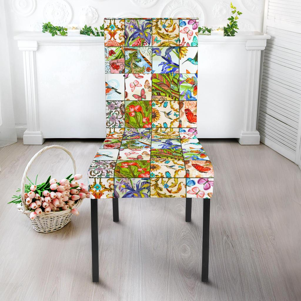 Windows To Nature Dining Chair Slipcover