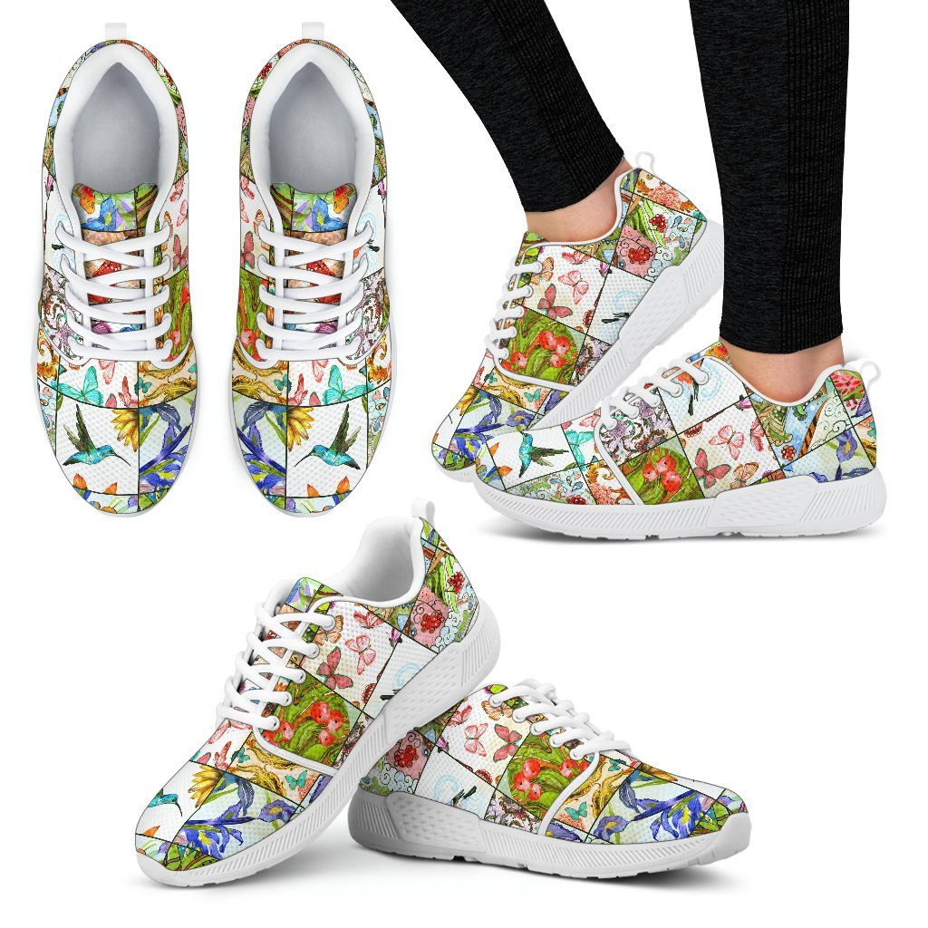 Windows To Nature Women's Athletic Sneakers