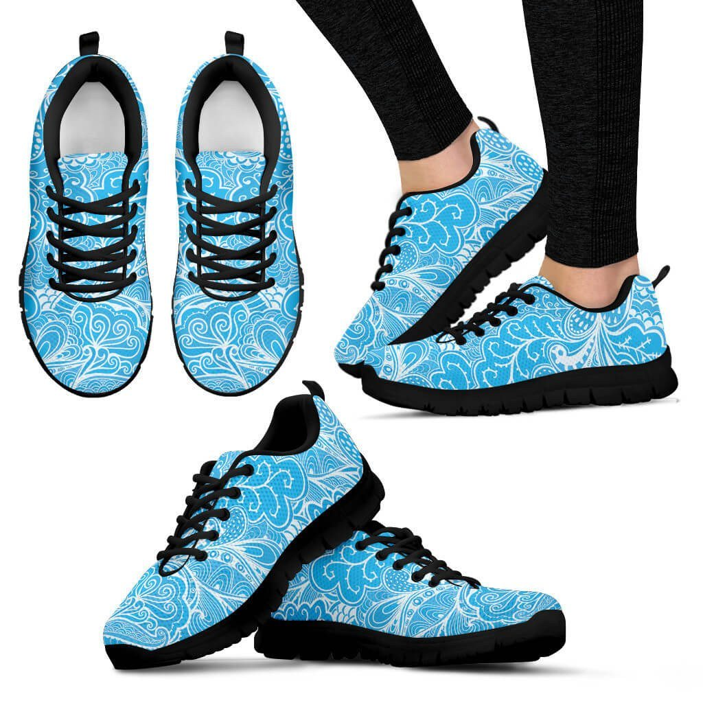 Women Sneakers - Calm In Blue Sneakers