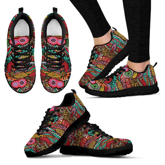 Women Sneakers - Happy Colors Sneakers