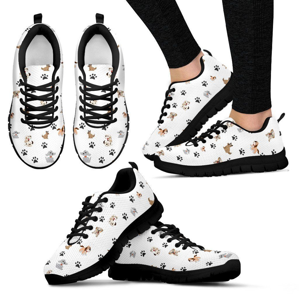 Women Sneakers - Happy Dogs Sneakers