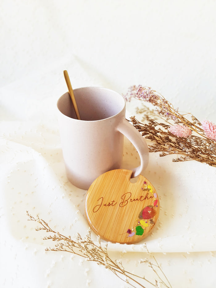 [Pre Order] Personalised Engraved Lid Ceramic Mug