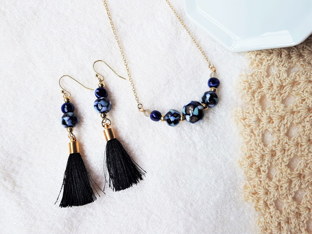 Callie Tassels Earrings