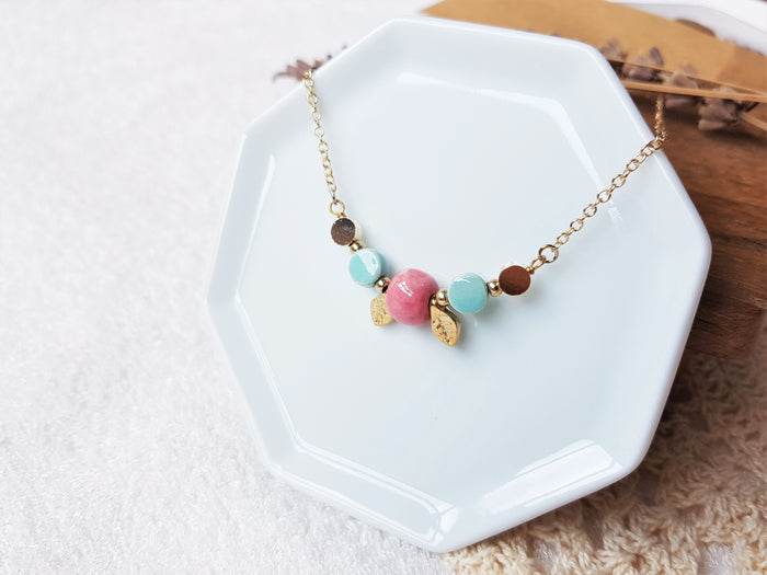 Bernice Autumn Necklace