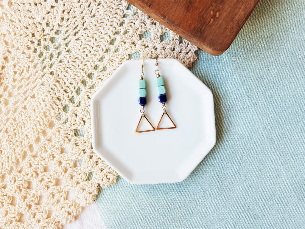 Zara Edge Earrings
