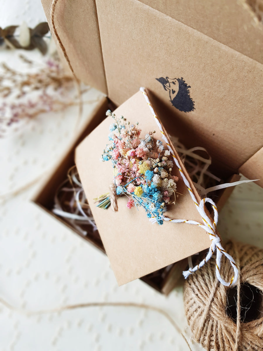 Baby's Breath Bouquet Card