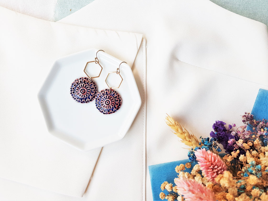 Yura Floral Earrings