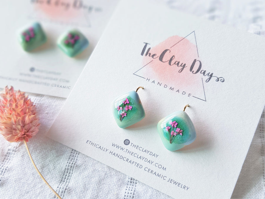Garden Floral Earrings