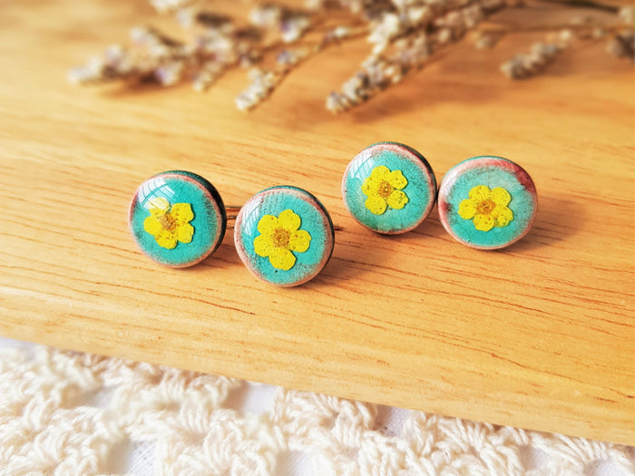 Dawn Floral Earrings