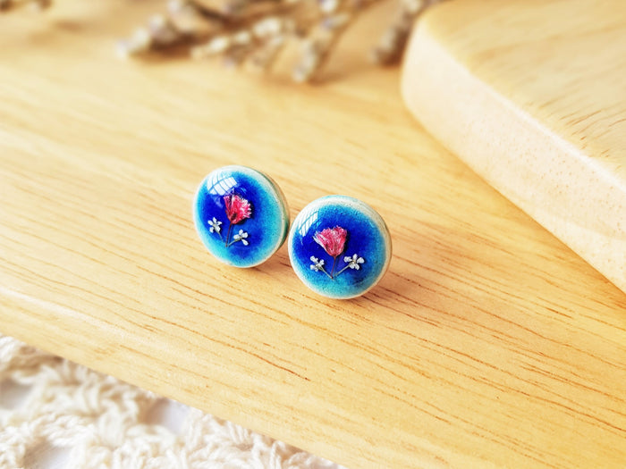 Clare Floral Earrings