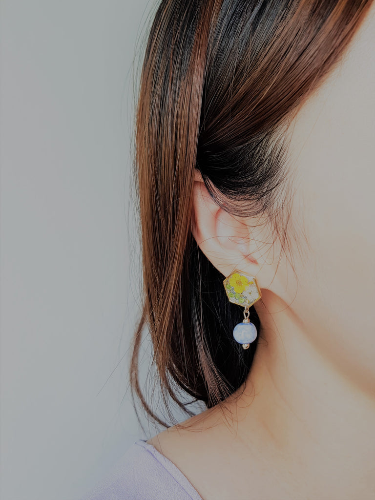 Darcy Floral Earrings