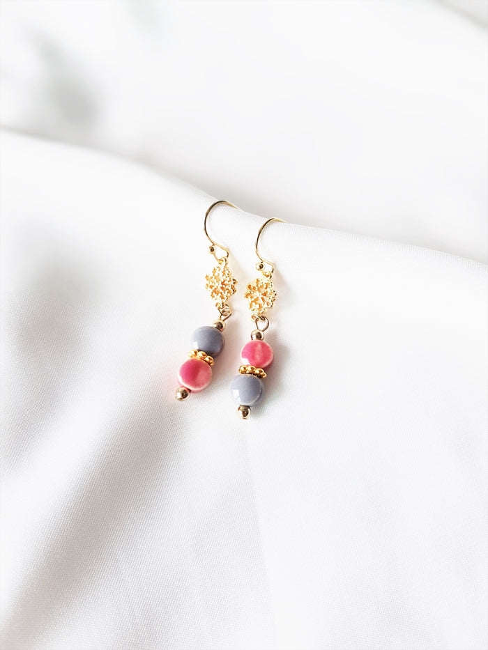 Faye Pink Earrings