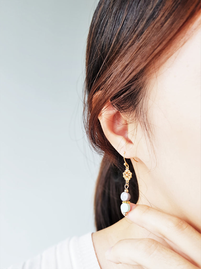 Faye Mint Earrings
