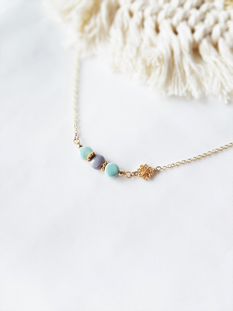 Faye Mint Necklace