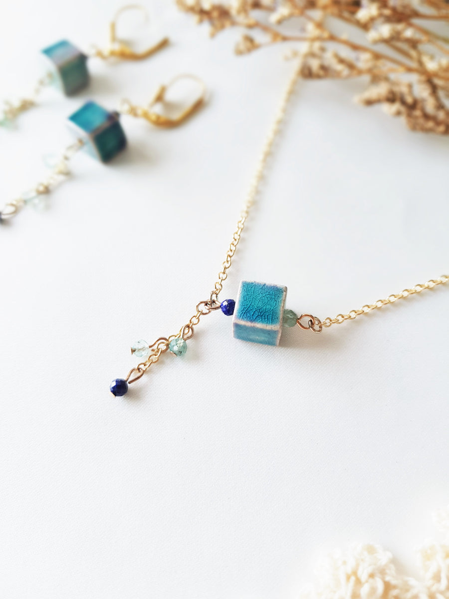 Ombre Cube Necklace