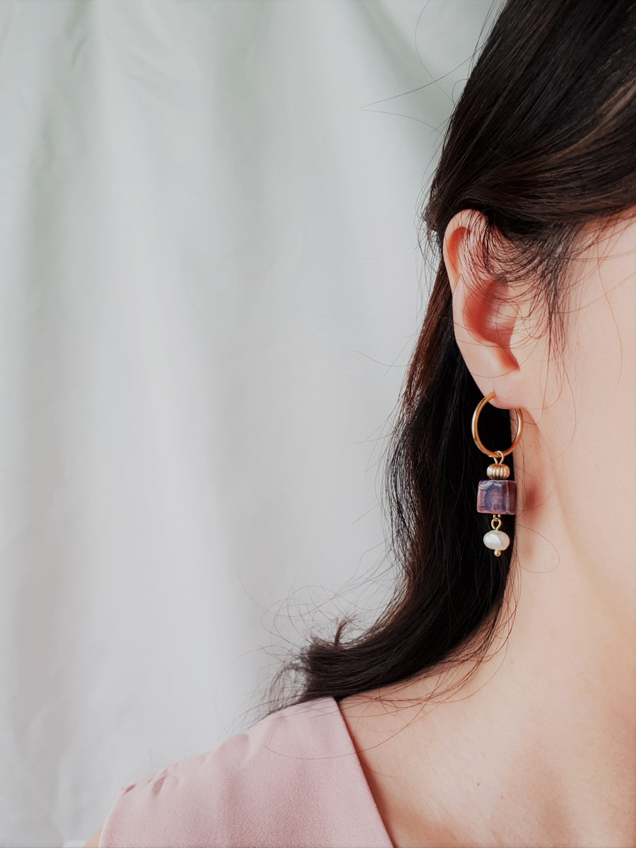 Everly Earrings (two-ways)