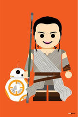 Canvas Rey e BB8 Toy