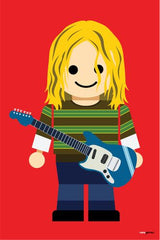 Canvas Kurt Cobain Toy