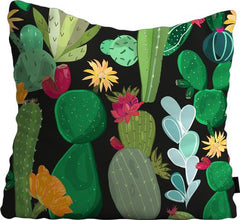 Cojín de Piso Cactus and Succulents Pattern