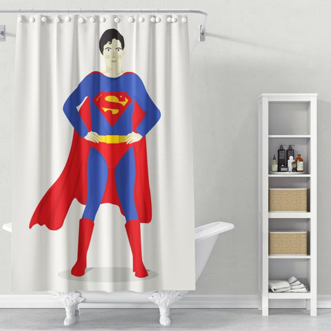 Cortina de Baño Superman
