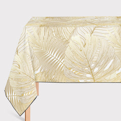 Mantel de Hule Golden Monstera