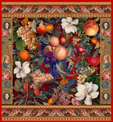 Canvas Vintage Fruit Pattern VIII