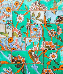 Canvas Floral Morocco