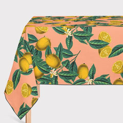 Mantel de Hule Lemon and Leaf