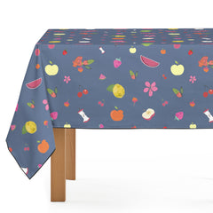 Mantel de Hule Fruit Pattern