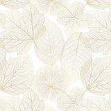 Papel Mural Golden Leaves